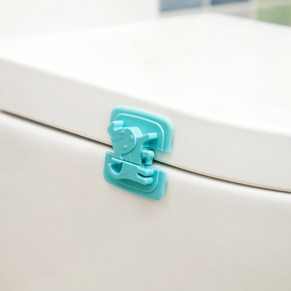 Baby Cabinet Locks Straps Safety Kids Cartoon Safety Fridge Door  Refrigerator Drawer Children Security Lock Protection Infant