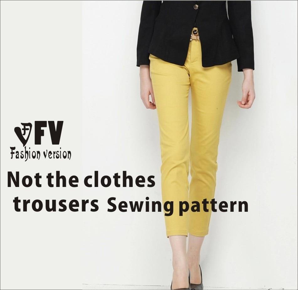 ⃝Pantalones patrón de costura del patrón de Los pantalones (No ...