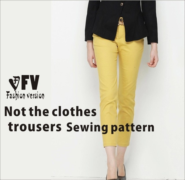 pants sewing pattern The trousers pattern(Not the pants) BCK 17-in ...