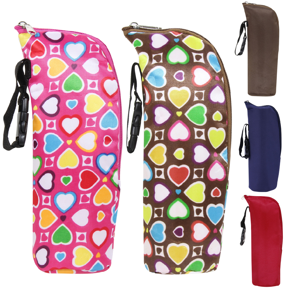 Portable Baby Feeding Bottle Insulation Storage Bag Baby Water Milk Warmers Bag Stroller Hanging Food Thermal Container
