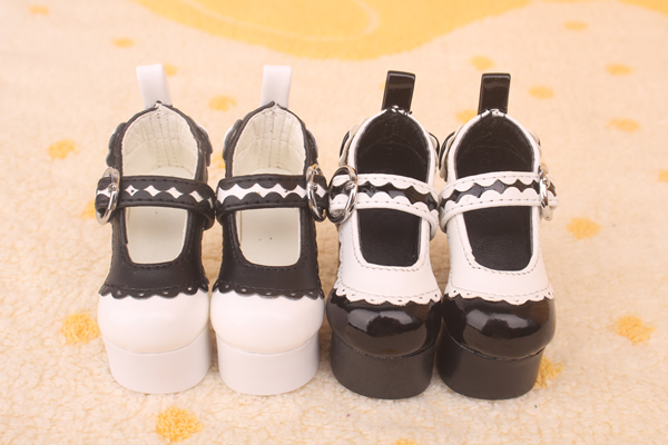 1/4 Bjd doll pink blue high heeled shoes girl female fashion beautiful shoes bjd accessories
