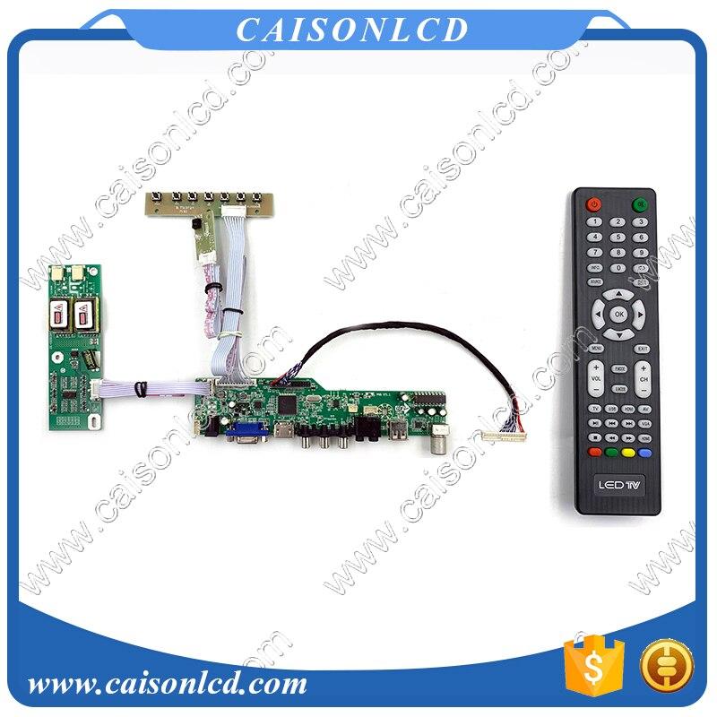 tv circuit board diagram repair m6 v5 1 lcd tv controller board support hdmi vga audio av usb tv  hdmi vga audio av usb tv
