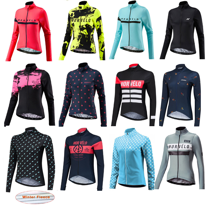 Cycling Jersey Bicycle Shirt Long Sleeve Bike MTB MotoCross Top Jacket Winter