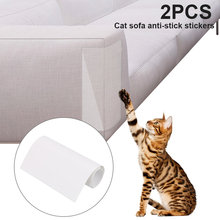2pcs Couch Guard Furniture Protector Stickers Cat Sofa Anti-Scratching Scratch Post Claw Self-adhesive Pad Mat Supply 47x15cm(China)