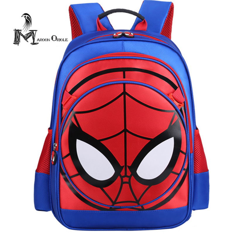 Spider man backpack kids school bag spiderman bag for boys daily book bag set high quality backpack kids boys пластилин spider man 10 цветов