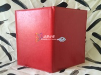 Sigh Book Customize DIY Blank Certificate Cover Imitation Leather Golden Foil Gold Plated Certificate Wholesale