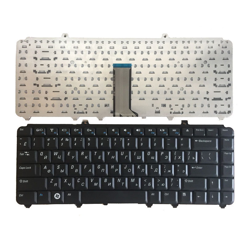 Russian New Keyboard FOR DELL 1420 1400 PP22L 1318 1545 PP29L 1520 1525 PP26L 1521 1526 PP14L PP41L M1530 RU Laptop Keyboard
