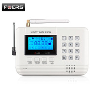 Free shipping Wireless PSTN GSM Home Alarm System for Home Office House Security Burglar Safety Spanish/Russian/English Voice