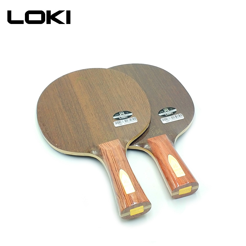 LOKI Potent ML Professional Wenge Wood Table Tennis Blade 5 Layers High Quality Ping Pong Bat Paddle Offensive original stiga offensive wood oc nct table tennis blade page 5 page 4