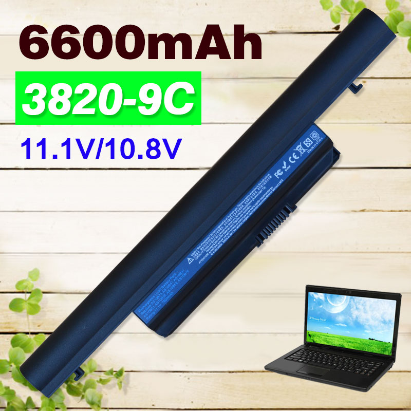 6600mAh battery for Acer Aspire TimelineX 3820 4820 5820 3820T 4820T 5820T 5553 5553G 5625 5625G 5745 5745G 5745P da0zr8mb8e0 mbpu806001 mb pu806 001 for acer aspire 5625 5625g 5553g laptop motherboard hd5470 ddr3