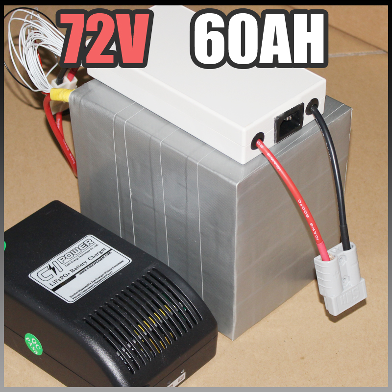 72V 60Ah μπαταρία LiFePO4, ηλεκτρική - Ποδηλασία - Φωτογραφία 2