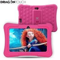 Çocuklar için DragonTouch Y88X Artı 7 inç Çocuk Tablet Quad Core Android 5.1 1 GB/8 GB Kidoz Önceden Yüklenmiş için En Iyi hediyeler Çocuk