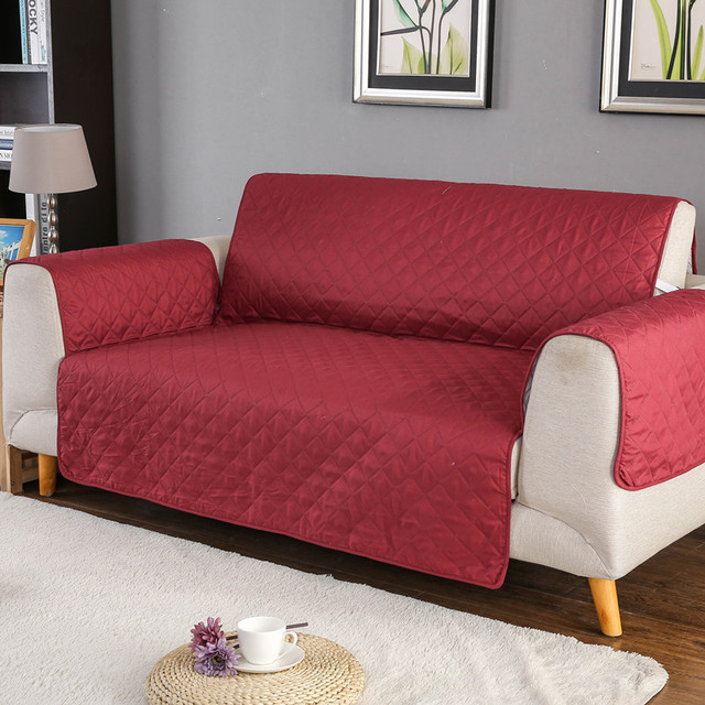 Waterproof Quilted Sofa Covers for Dogs Pets Kids, 1/2/3 Seater