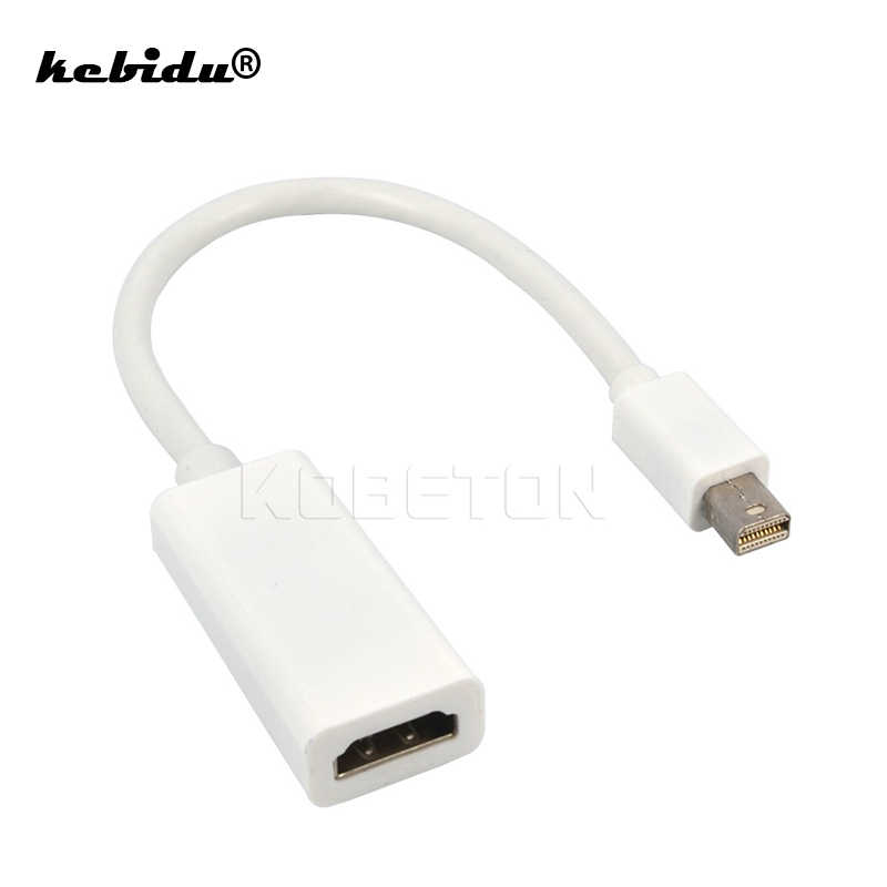 Cable adaptador para Apple Mac Macbook Pro Air kebidu de alta calidad con puerto de pantalla Mini DisplayPort DP a HDMI