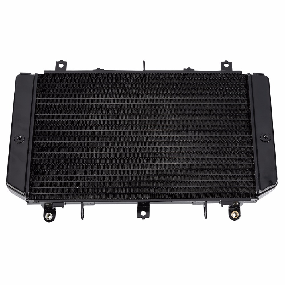 Motorcycle Replacement Aluminum Radiator Cooler for Kawasaki Z1000 2003-2006 2004 2005 03-06 04 05 ROW NEW black tansky 42mm 2 row performance aluminum radiator for nissan skyline r33 r34 tk r106rad