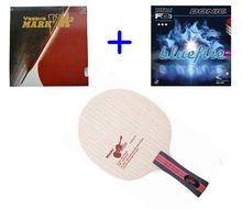 NITTAKU Violin Table tennis bat pingpong blade/Yasaka rakza7(Mark V, M2) Donic F1, S1 rubber for table tennis racket / racquet