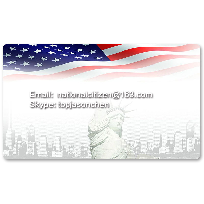 Country Flag Playmats - U.S.A - Board Game Mat Table Mat Mouse Mat Mouse Pad 60 x 35CM