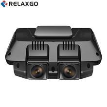 On sale Relaxgo 2.7″ Mini Car DVR Front And Rear Camera FHD 1080P+FHD 1080P Car Camera Wifi Video Recorder Night Vision Auto Camcorder