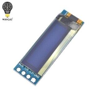 """Image 5 - WAVGAT 0.91 inch OLED module 0.91"""" Blue White OLED 128X32 OLED LCD LED Display Module 0.91"""" IIC Communicate"""