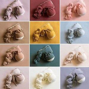 Image 2 - Ylsteed 3 יח\סט יילוד אבזרי תמונה תינוק זנב כובע למתוח צילום לעטוף עם פוזות כרית תינוקות סטודיו ירי תלבושות