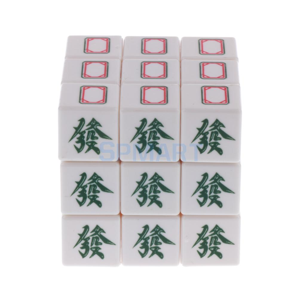 3x3x3 Professional Magic Cube Classic Chinese Mahjong Brain Teasers Twist Puzzle Toys for Kids Adults