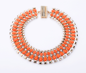 kissme A Fire Sale Candy Color Statement Necklaces For Women Party Gifts Fashion Jewelry Clearance Sale Big Promotion Wholesale image