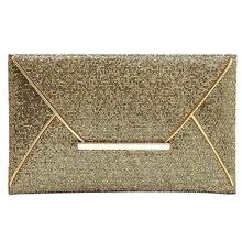 10pcs( ASDS Fashion Womens Sequins Envelope Bag Evening Party Purse Clutch Handbag
