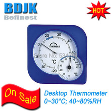 Desktop Indoor Hygrometer & Thermometer with Many Colors Free Shipping