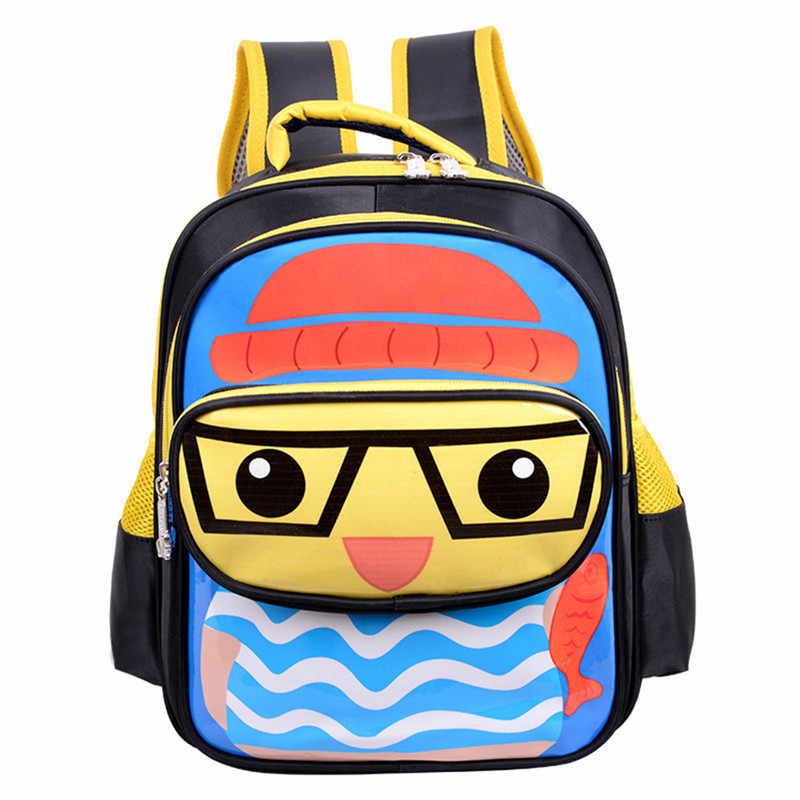 44d0c95e4c19 3D Bags for boys girls backpack kids Puppy mochilas escolares infantis  children school bags Satchel School knapsack Baby bags