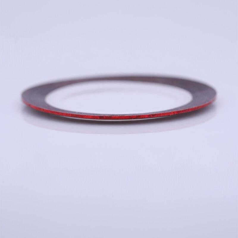 2 мм матовый блеск для ногтей, Чередование ленты линия разноцветные, для ногтей инструмент для укладки волос Стикеры наклейка DIY украшения для ногтей - Цвет: 07