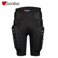 NEW HEROBIKER Outdoor Sports Protective Hockey Pants Armor Off Road Pants Shorts Protective Gear Skiing Gear