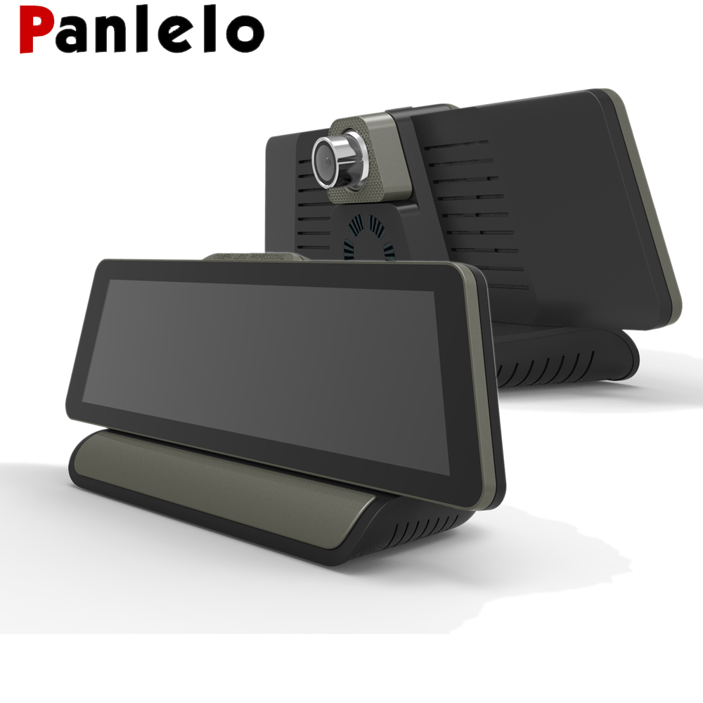 Panlelo GPS Car Navigation 9.88 inch Android 5.0 1600*400 HD 1080P 3G with Camera Car GPS with WIFI DVR G SENSOR with Bluetooth