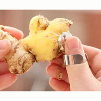 1Piece Smart Wise Garlic Peeler Plastic Garlic Ginger Cooker Kitchen Tool Accessories