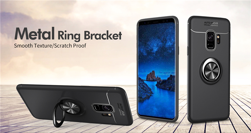 Car Holder Stand Magnetic Bracket Finger Ring TPU Case For SAMSUNG Galaxy S9 S8 Plus Note 8 J330 J530 J730 J4 J6 J8 A6 Plus 2018 (21)