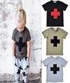 Nununu T рубашка хлопок лето стиль принт мальчик девочка T рубашка дети одежда милый малыш одежда infantil menino