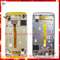 For Alcatel One Touch Idol Alpha 6032 OT6032 LCD Display Touch Screen Digitizer Assembly With Frame 6032A 6032X Replacement