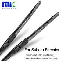 Przednie i tylne pióra wycieraczek Mikkuppa do modeli Subaru Forester Fit Hook Arms od 1997 do 2018 roku