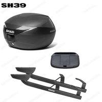 for KAWASAKI NINJA 650 ER6F 2012 2016 SHAD SH45 TopBoxs+Rack Set Motorcycle Luggage Case
