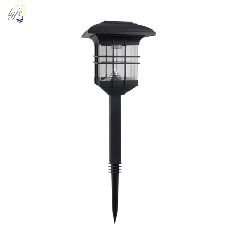 Solar Lawn Lighting Waterproof Newest Hot Sale Outdoor Solar Powered LED Garden Yard Bollard Pillar Light Post Lamp