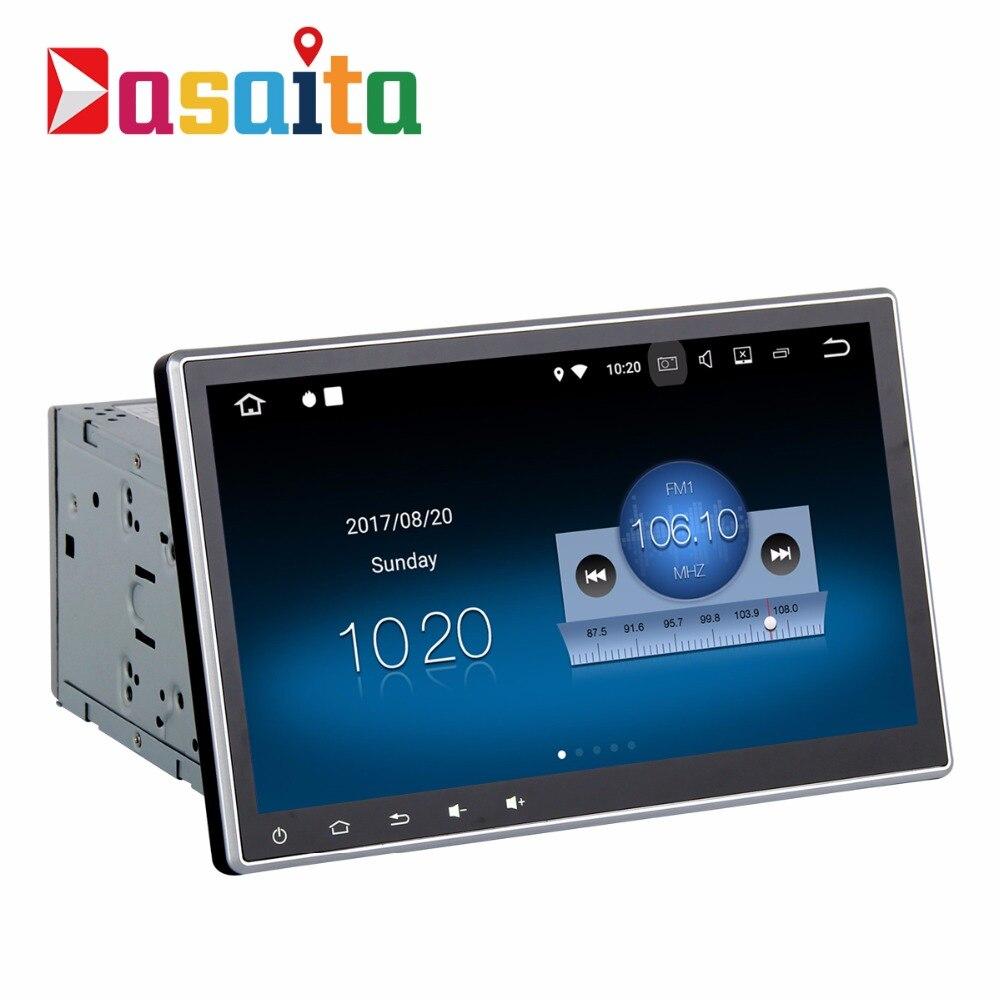 2 дин радио gps Android 7,1 Съемная панель с г + г 16 4 ядра стерео Авто мультимедиа HDMI подходит для Nissan Honda Toyota