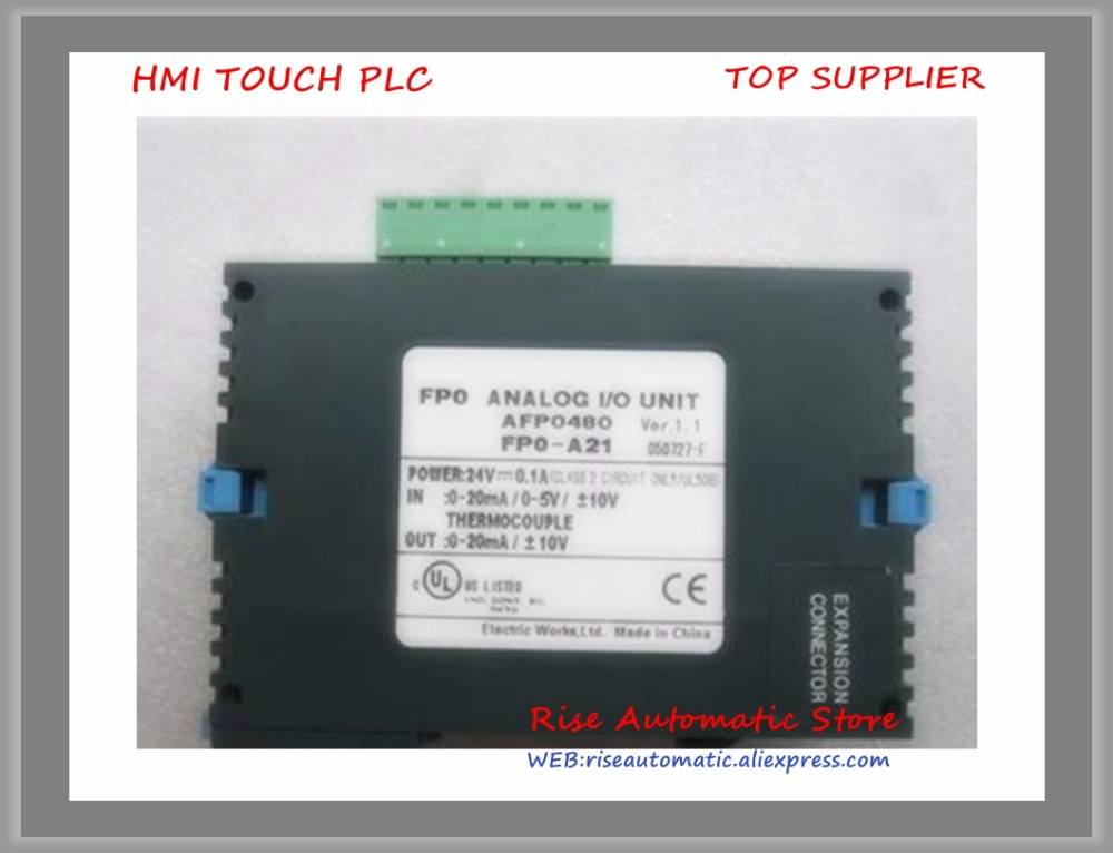 New Original PLC Module FP0-A21-F PLC Analog Unit 2AI 1AO High-qualityNew Original PLC Module FP0-A21-F PLC Analog Unit 2AI 1AO High-quality