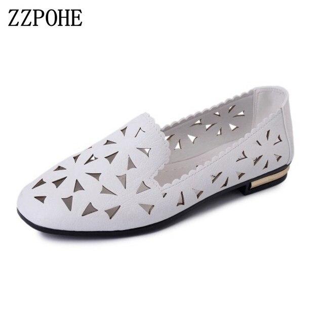 Women Flat Shoes - Fashion Summer Sandals Ballet Shoes Comfortable Slip On Shoes