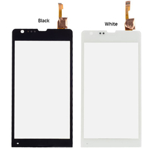Super Deal 5PCS/LOT Top Quality New Black Touch Screen Digitizer For Sony Xperia SP M35 M35h M35i C5302 C5303 Touch Glass Panel