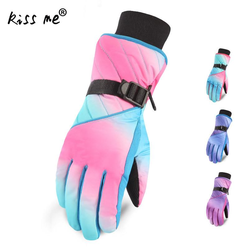Waterproof Riding Gloves Touch Screen Anti-Skidding Winter Thermal Climbing Gloves Nature Hiking Gloves Waterproof Skiing Gloves