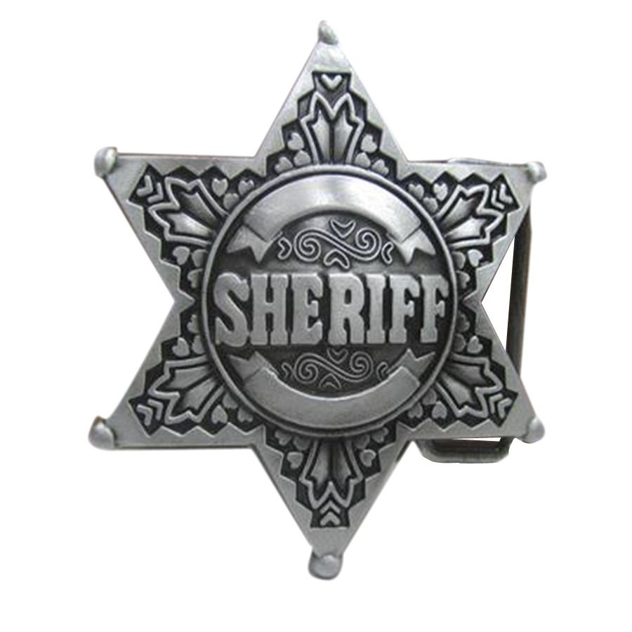 SHERIFF buckles mens designer belt buckles metal for Clothing, jeans, dress, women pants, skirt, girls clothes, Kid clothes