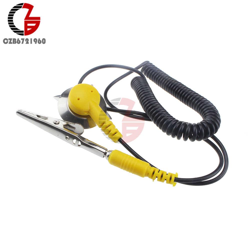 Новый Антистатический провод катушки Антистатический ESD коврики заземления антистатический 50 см кабель