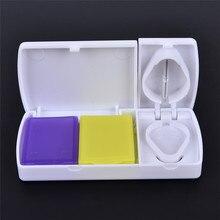 Knife Pill-Case Storage-Cutter Medicine-Cutting Portable Break Rectangular