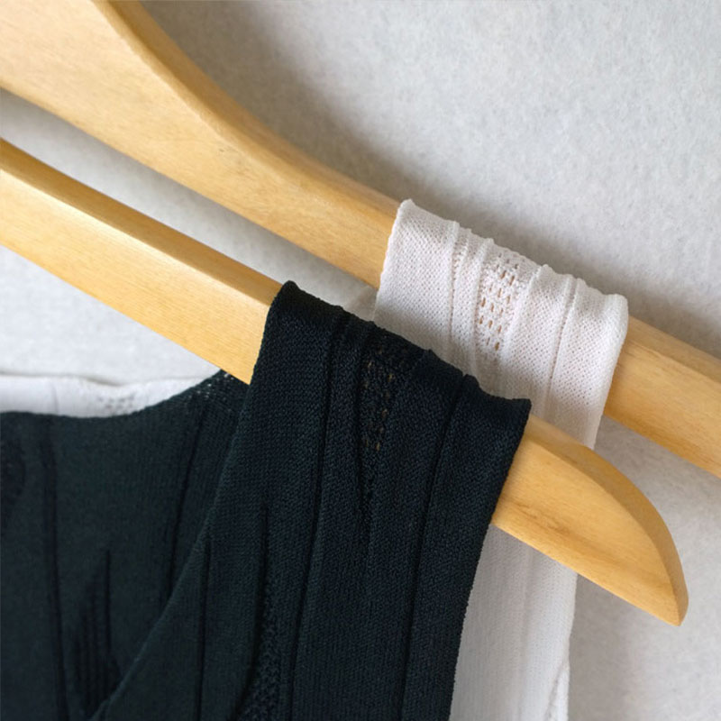 Voobuyla New 2018 Autumn Women Knitted Vest Tops Casual Sleeveless Tank Summer Sling Tops Femela Black
