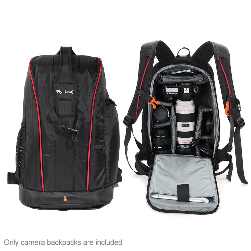 85ec851acbfe Camera Bag Water-resistant Backpack Padded Shockproof Lightweight for Nikon  Canon Sony DSLR Camera Lens
