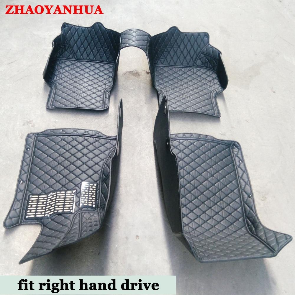 Rubber floor mats for glk350 - Custom Fit Right Hand Drive Car Floor Mats Cars Tyling Carpet For Mercedes Benz A C